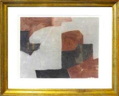 Poliakoff, Serge - Composition brune, grise et noire