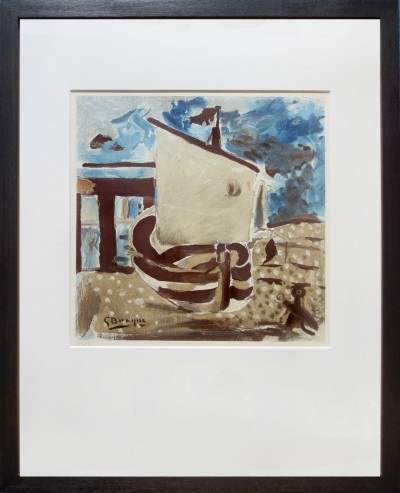 Braque, Georges - Segelboot