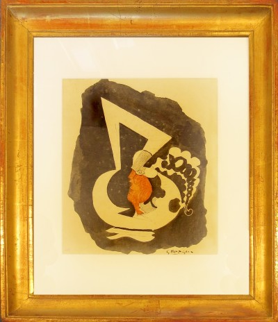 Braque, Georges - Frauenportrait