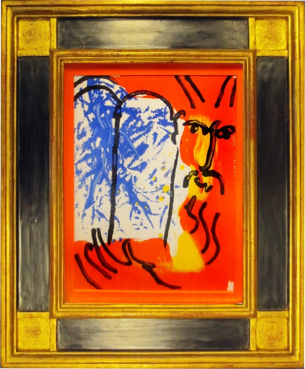 Chagall, Marc - Moses.