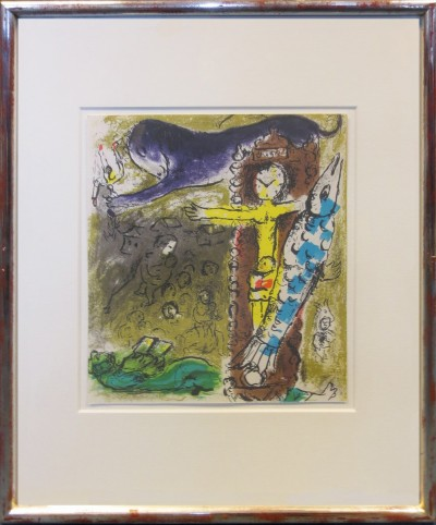 Chagall, Marc - Le Christ
