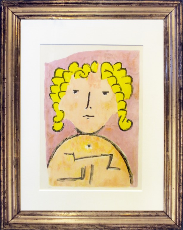 Klee, Paul - Tete d'enfant