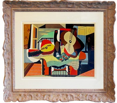 Picasso, Pablo - Mandolin and Guitar