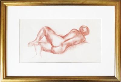 Maillol, Aristide - weiblicher Rückenakt